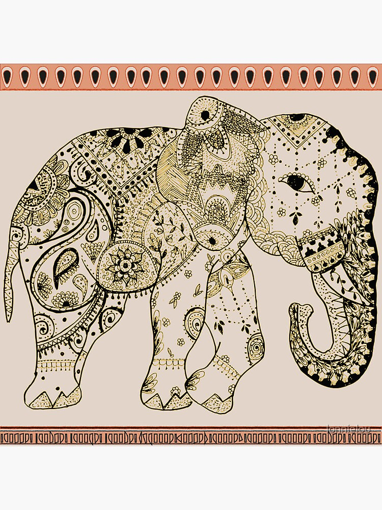 Indian Summer Mrs Ellie-Phant by lonnielou