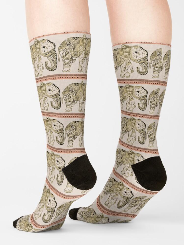 Alternate view of Indian Summer Mrs Ellie-Phant Socks