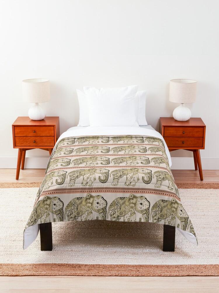 Alternate view of Indian Summer Mrs Ellie-Phant Comforter