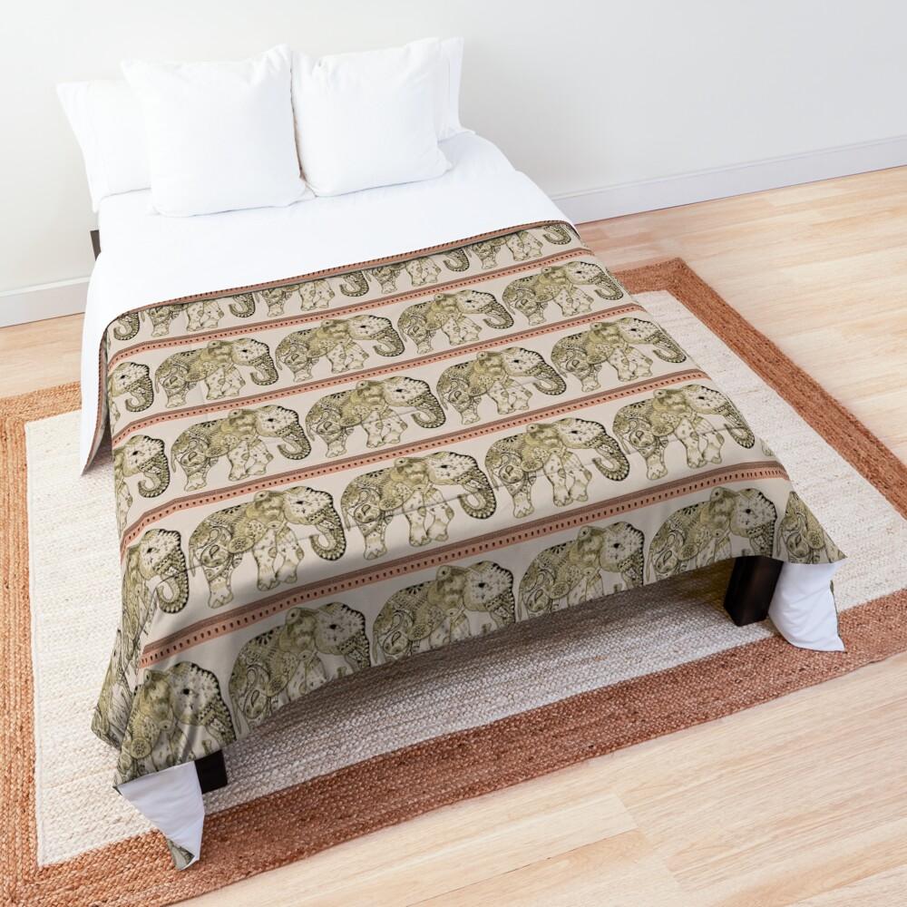 Indian Summer Mrs Ellie-Phant Comforter