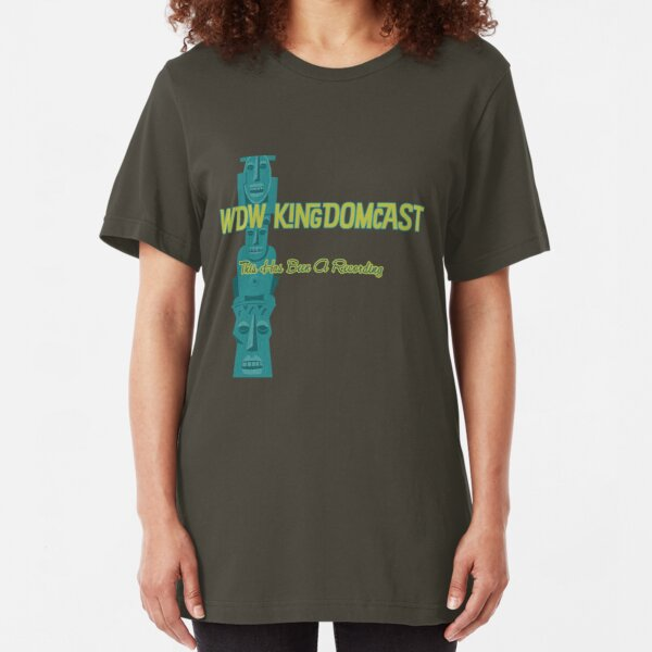 Kingdomcast Tiki logo Slim Fit T-Shirt