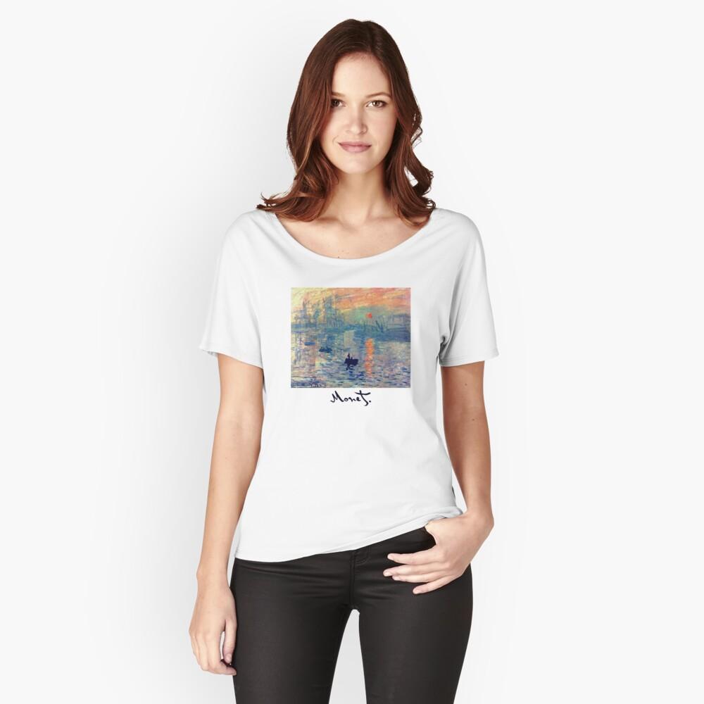 Monet: Impressionen von Sunrise Loose Fit T-Shirt