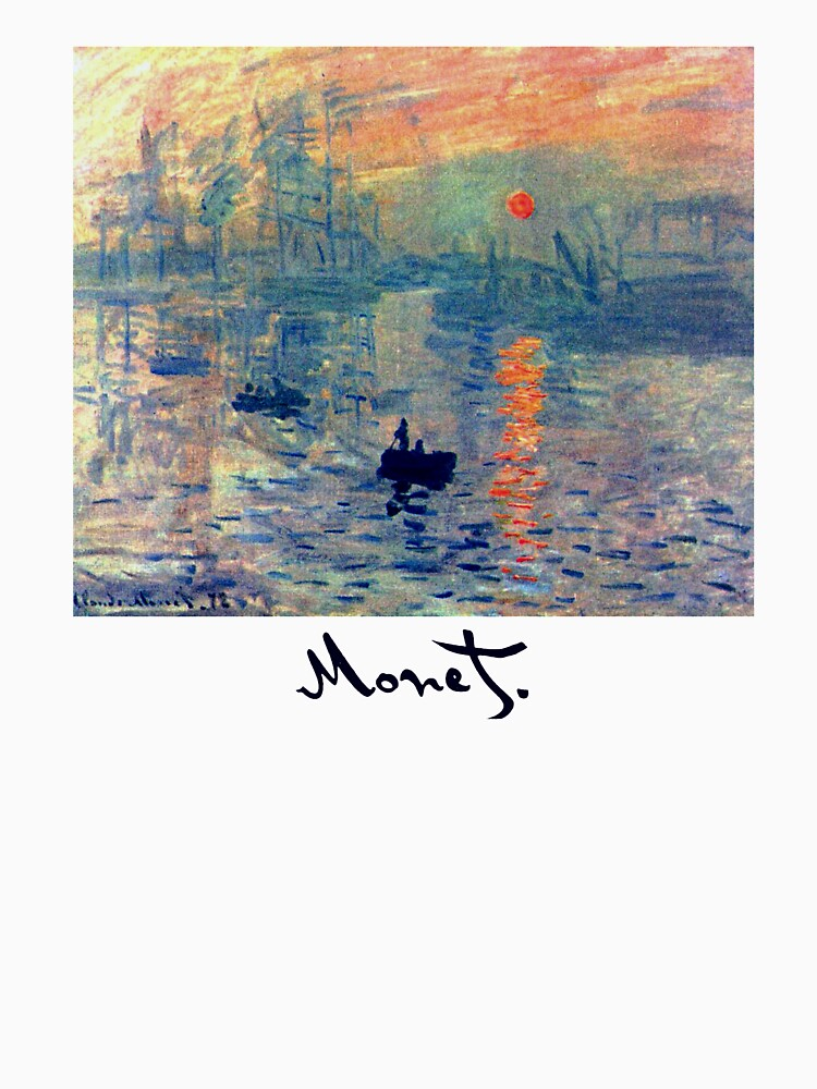 Monet: Impressionen von Sunrise von Chunga