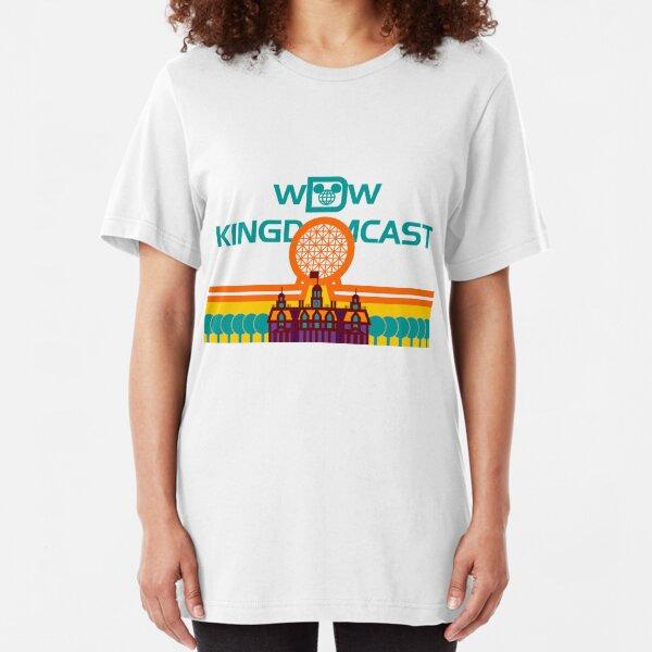 Kingdomcast Vintage logo Slim Fit T-Shirt