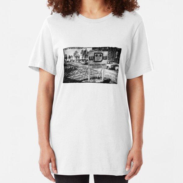Kingdomcast Florida Project logo Slim Fit T-Shirt