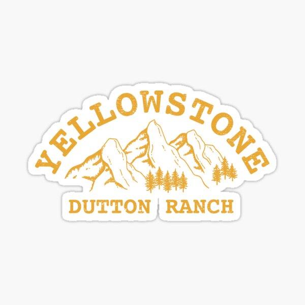 Yellowstone Dutton Ranch Sticker