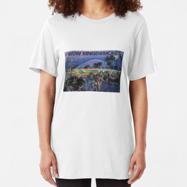 Kingdomcast Horizons logo Slim Fit T-Shirt
