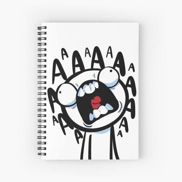 AAAAAAAA Spiral Notebook
