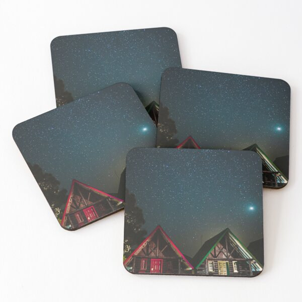 Shining stars Coasters (Set of 4)