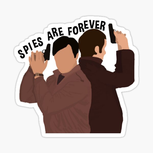 Spies are Forever Sticker
