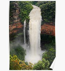 Wentworth Falls.  Poster