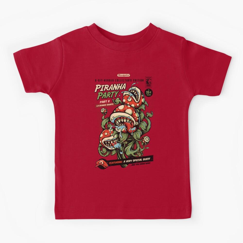 Piranha Party Kids T-Shirt