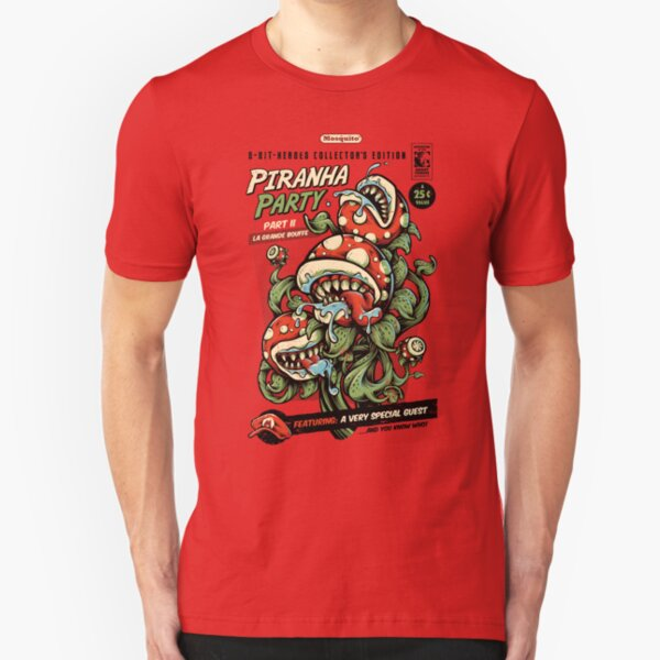 Piranha Party Slim Fit T-Shirt
