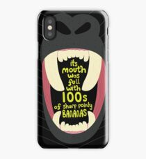 100s Of Sharp Pointy Bananas IPhone Case Skin