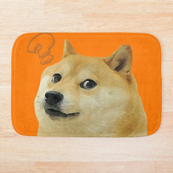 Meme 3 (Dog) Bath Mat