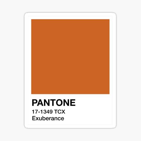 Pantone Exuberance Sticker