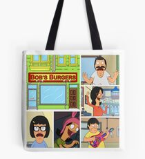 Bobs Burgers Collage Tote Bag