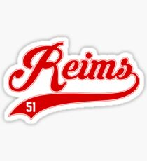 Reims style Baseball Sticker