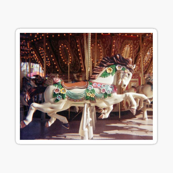 35mm Film Carousel Sticker