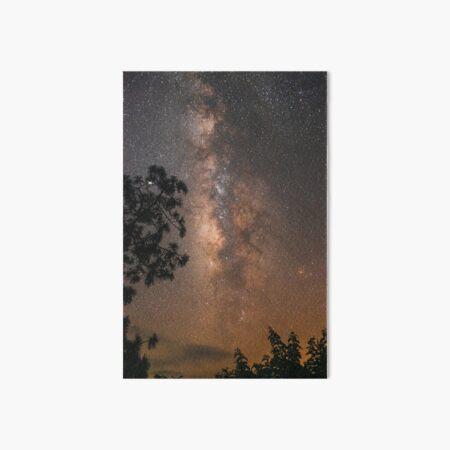 Milky way Art Board Print