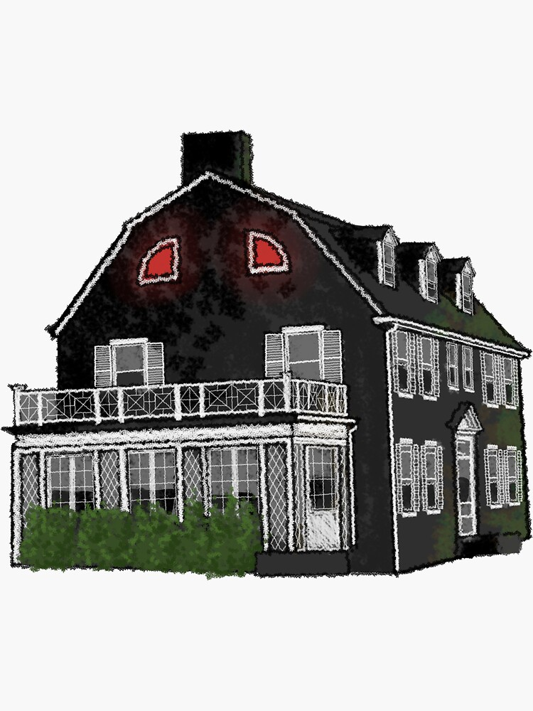 Amityville House by PaigeDoesTheArt
