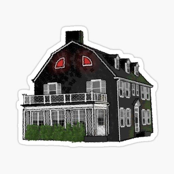 Amityville House Sticker