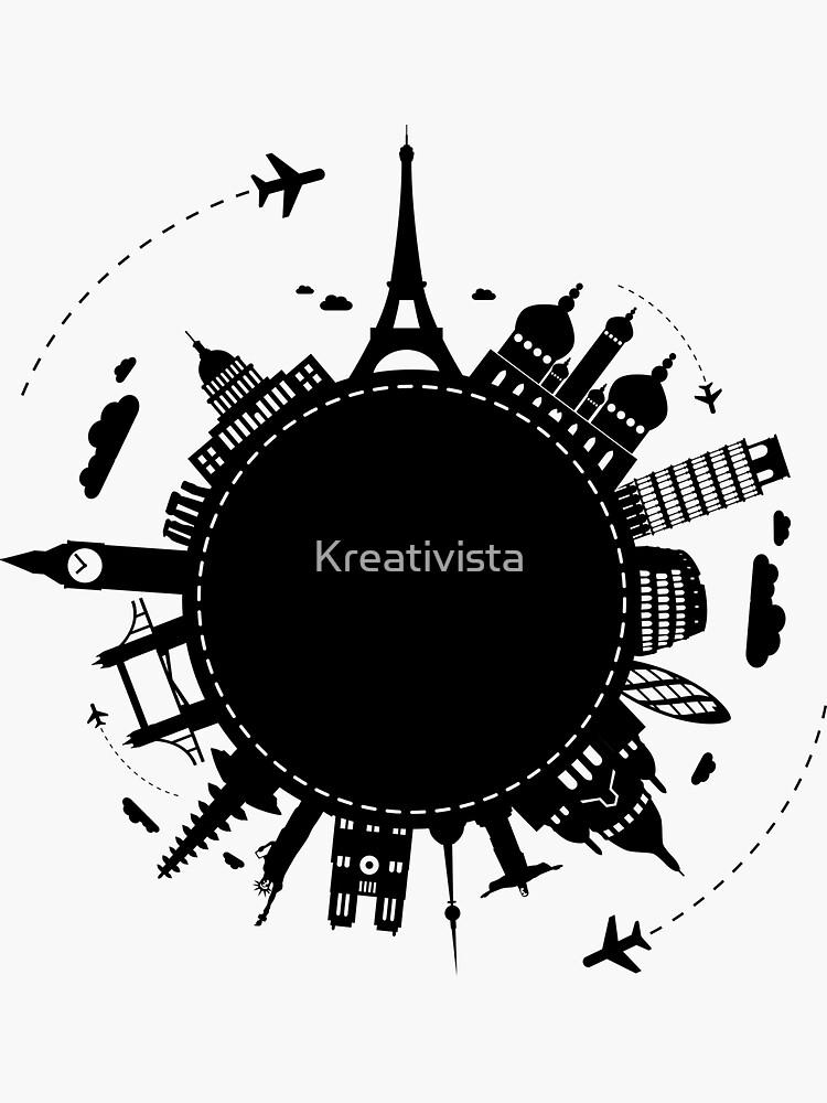 Around The World by Kreativista