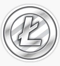 Litecoin Sticker - Bitcoin Crypto Currency Sticker