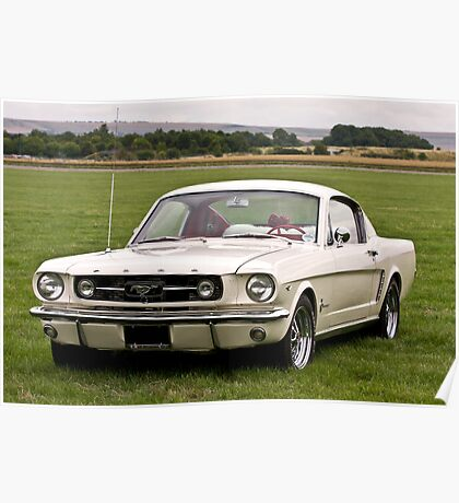 Ford Mustang fastback Poster
