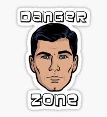 Danger Zone Archer Sticker