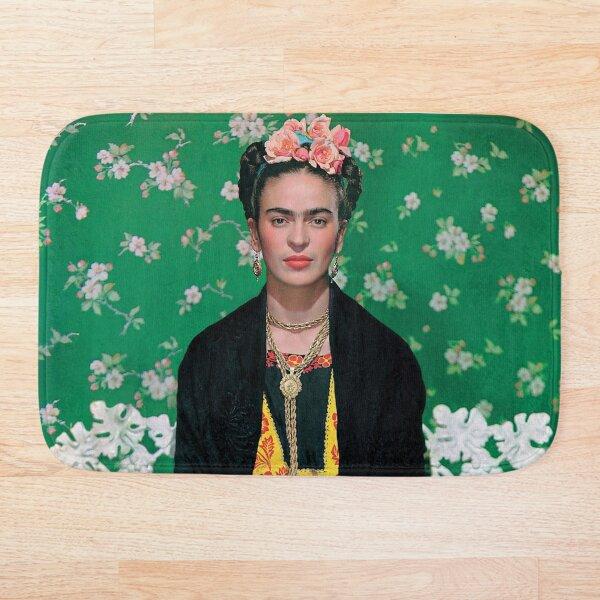 Frida Kahlo foto de portada completa de Vogue Alfombra de baño