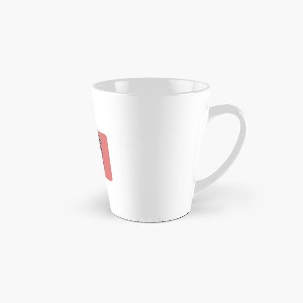 Benie Red Tall Mug