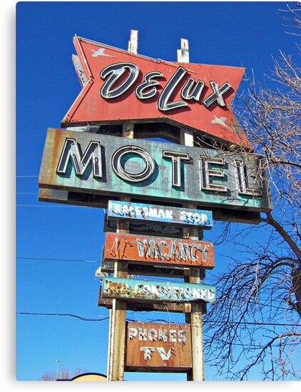 DeLux Motel by Greg Belfrage