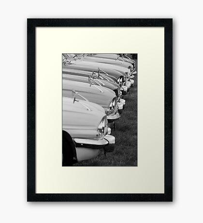 Ford Classic Capri Framed Print