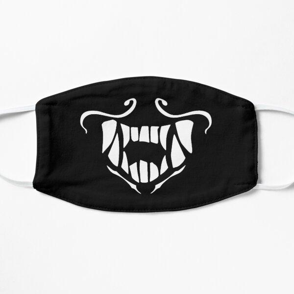 Máscara akali de KDA (blanca) Mascarilla plana
