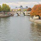 Autumn on the Seine by TigerOPC