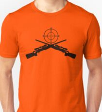 sniper target video game gamer T-Shirt