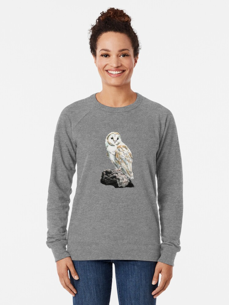Alternate view of Barn Owl Lightweight Sweatshirt