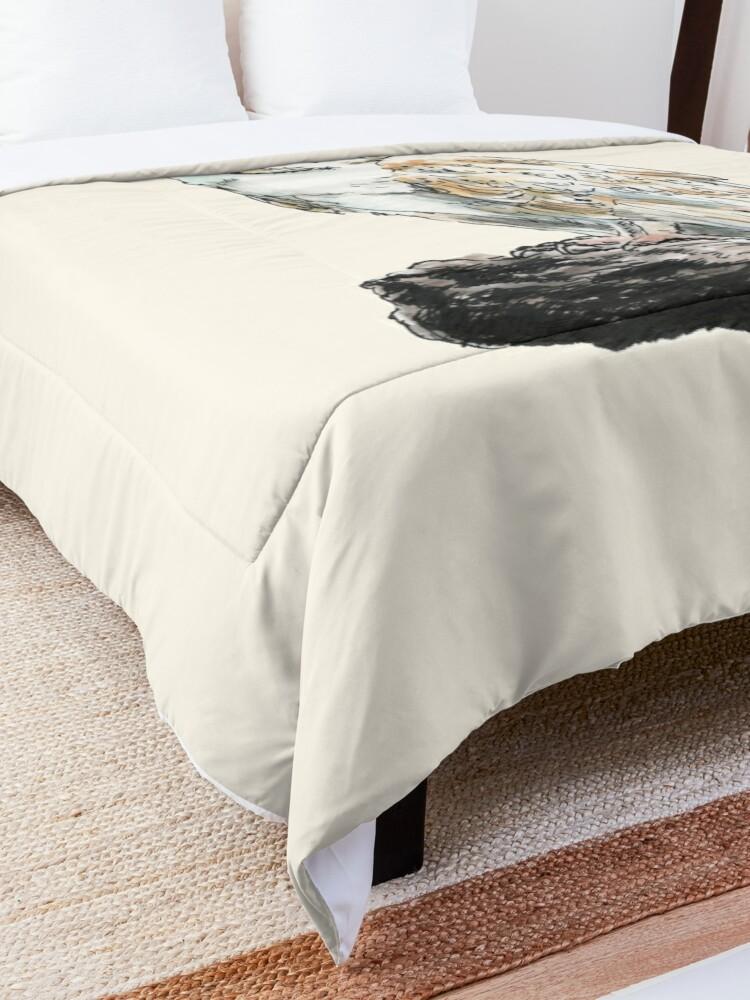Alternate view of Barn Owl Comforter
