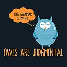 Owls Are Judgmental by fishbiscuit