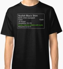 Stylish Black Shirt Classic T-Shirt