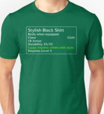 Stylish Black Shirt Unisex T-Shirt