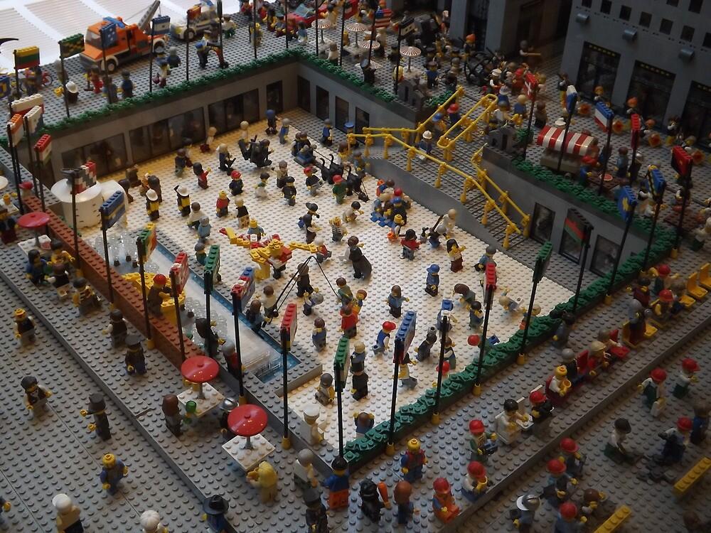 Lego Rockefeller Center Skating Rink, Lego Rockefeller Center Store ...