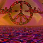Hippie Dippie 4 Peace SA by Sazzart