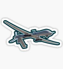 Predator Drone War Peace 1984 Military Sticker