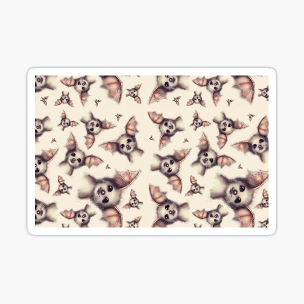 Foxy-Muster Sticker