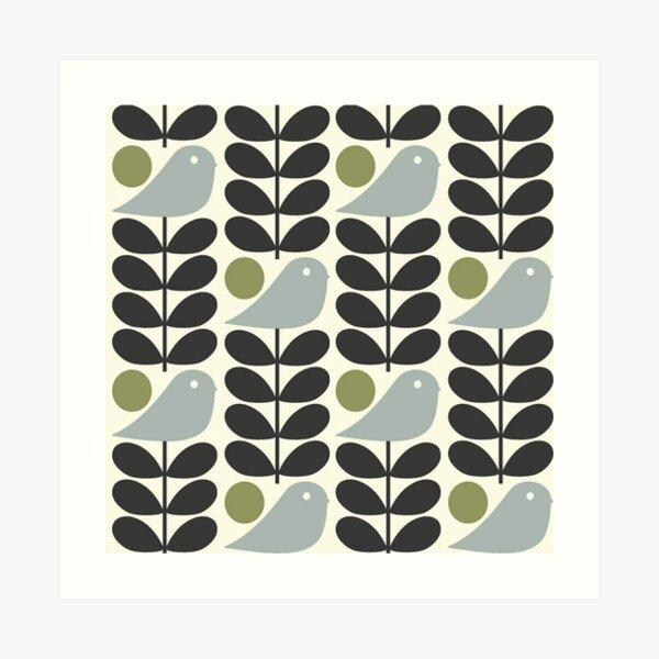 Orla kiely design Art Print