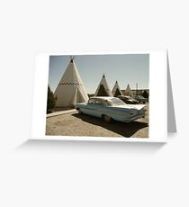 Wigwam Motel Greeting Card