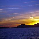 Sunset on the sea by sstarlightss