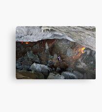 Sung Sot (Surprise) Cave in Ha Long Bay, Vietnam Metal Print
